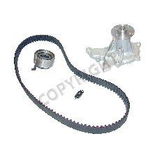 1993-1997 geo prizm engine timing belt kit with water pump - (airtex awk1247
