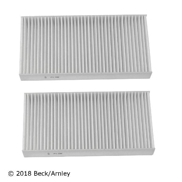 Beck Arnley Cabin Air Filter Set