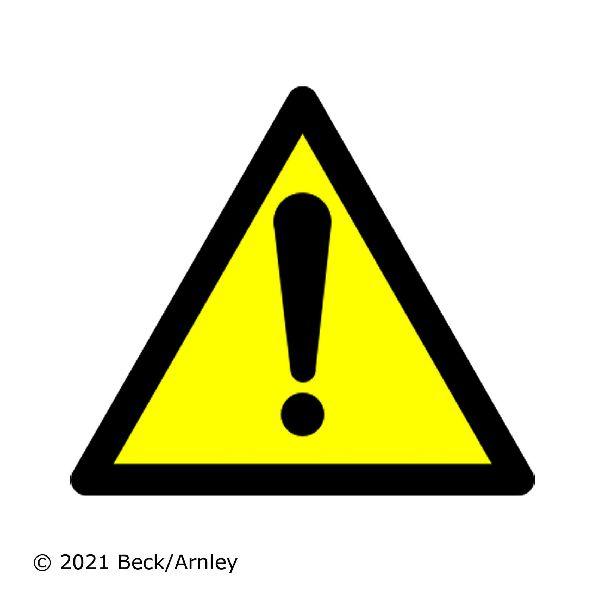 Beck Arnley Steering Center Link  Front