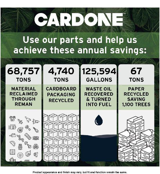 Cardone Power Steering Power Cylinder