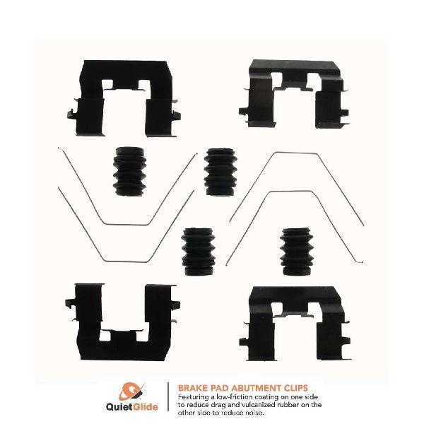 Carlson Disc Brake Hardware Kit  Front