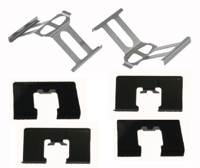 Carlson Disc Brake Hardware Kit  Rear