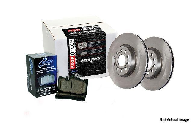 Centric Disc Brake Pad and Rotor Kit  Rear