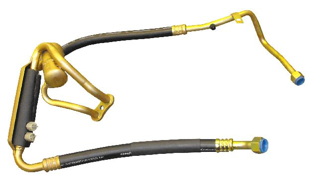CRP A/C Suction Line Hose Assembly  From Compressor
