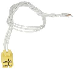 2006-2007 buick rendezvous body wiring harness connector - (dorman 645-622)  4 way female w/leads yellow