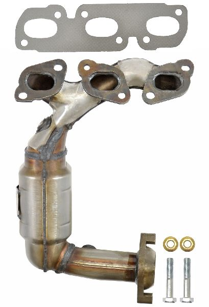 Eastern Catalytic Exhaust Manifold with Integrated Catalytic Converter  Front Left