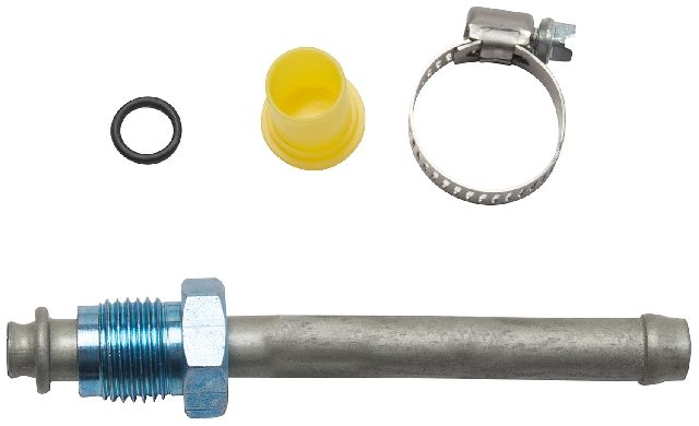 Gates Power Steering Return Line End Fitting  Gear To Cooler