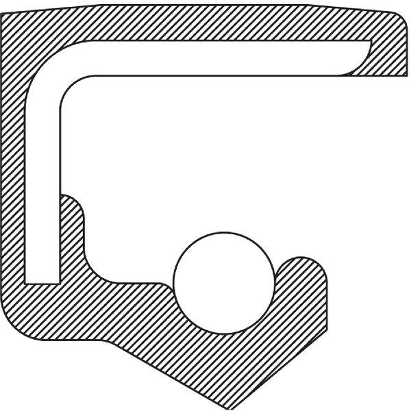 National Bearing Steering Gear Pinion Shaft Seal