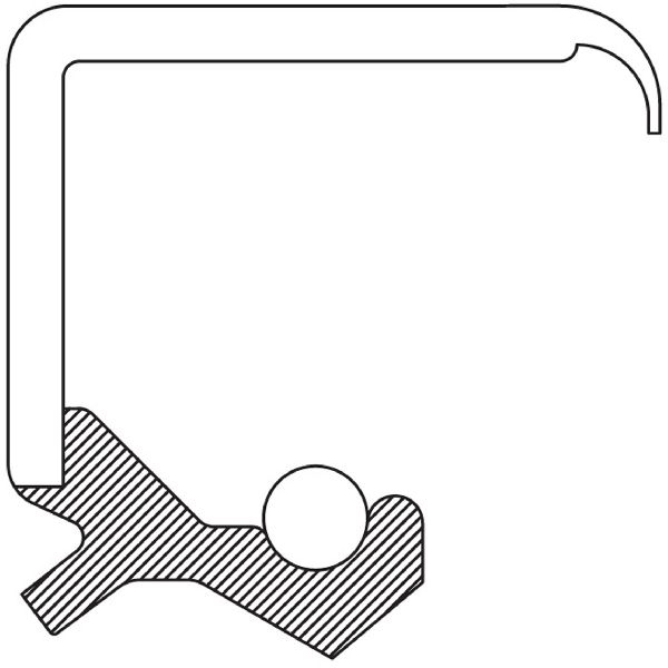 National Bearing Steering Column Shaft Seal