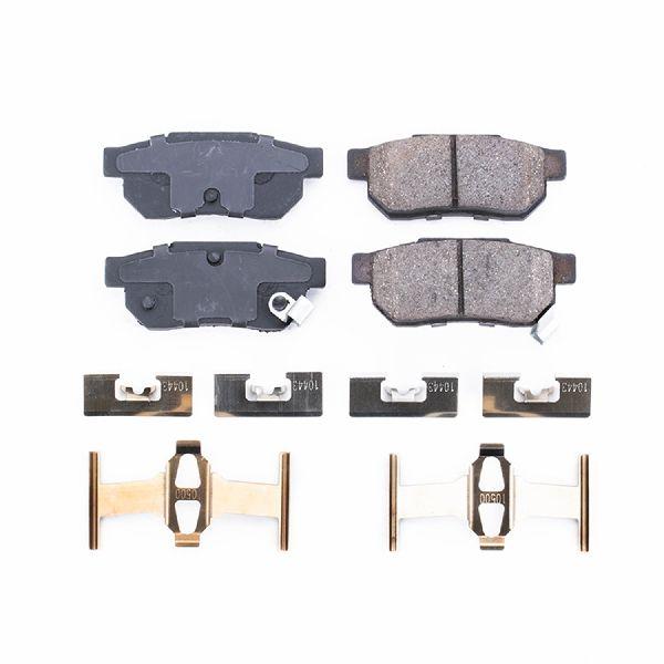 Powerstop Disc Brake Pad and Hardware Kit  Rear
