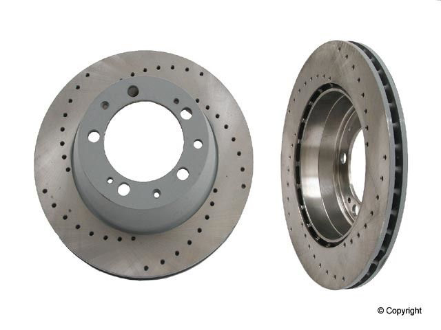 Sebro Disc Brake Rotor Set  Rear