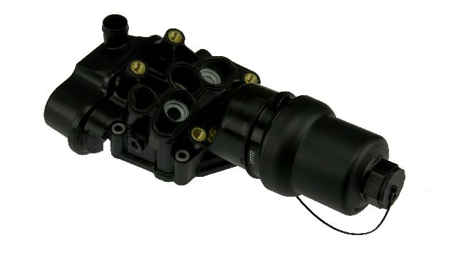 URO Parts Engine Oil Filter Housing