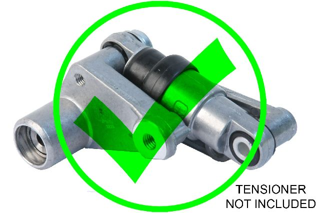 URO Parts Accessory Drive Belt Tensioner Pulley