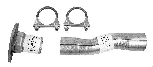 Walker Exhaust Pipe Installation Kit