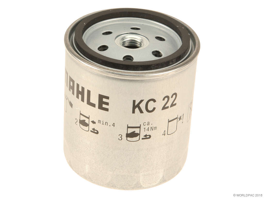 1977-1983 mercedes-benz 240d fuel filter - (mahle w0133-2077305) spin-on  optional with 001 092 05 01