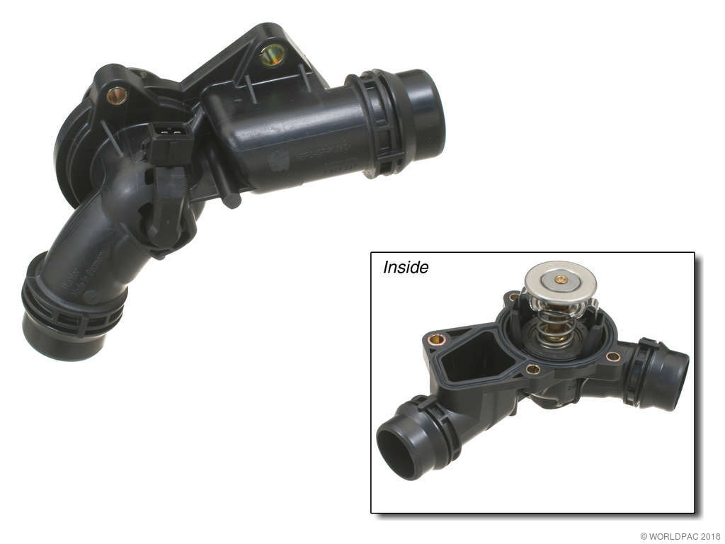 BMW 328i Engine Coolant Thermostat Aftermarket Replacement