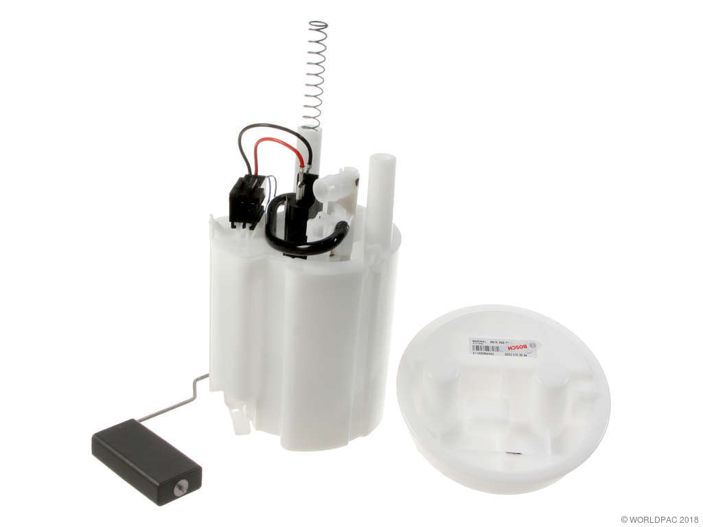 2001-2002 mercedes-benz c320 fuel pump module assembly - (bosch  w0133-1600326) chas: -r042894, production: -12/19/2001, includes integrated fuel  filter and