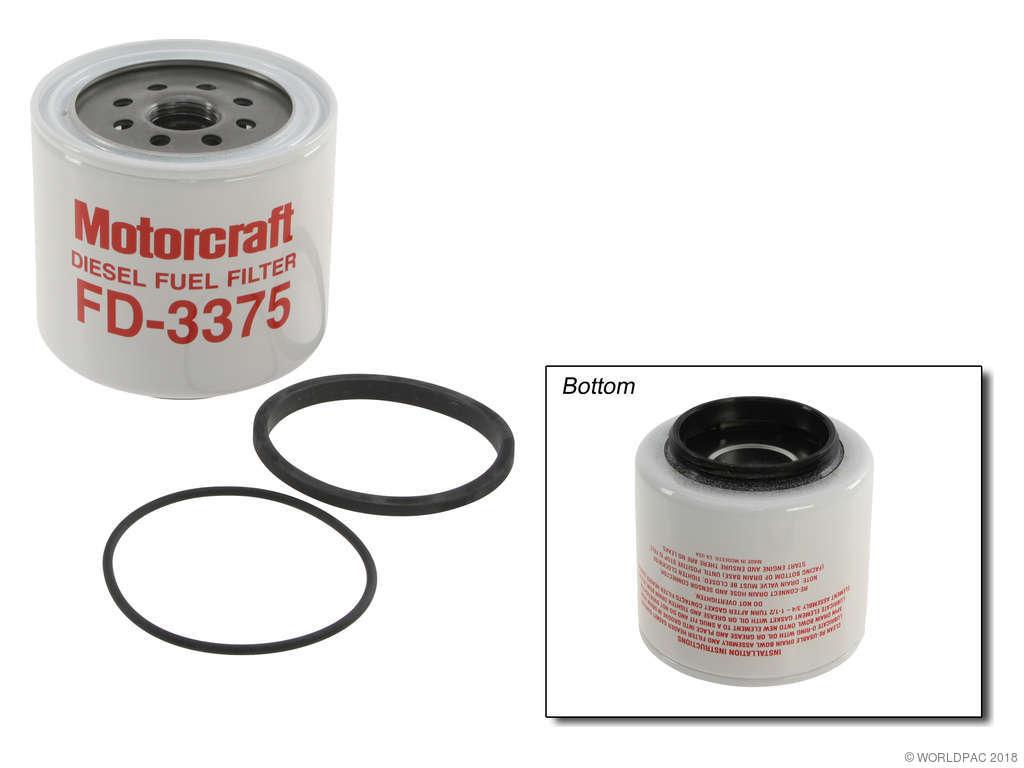 1988-1994 ford f-350 fuel filter - (motorcraft w0133-1700875)